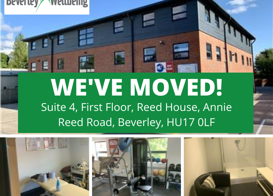 Beverley Wellbeing has moved premises